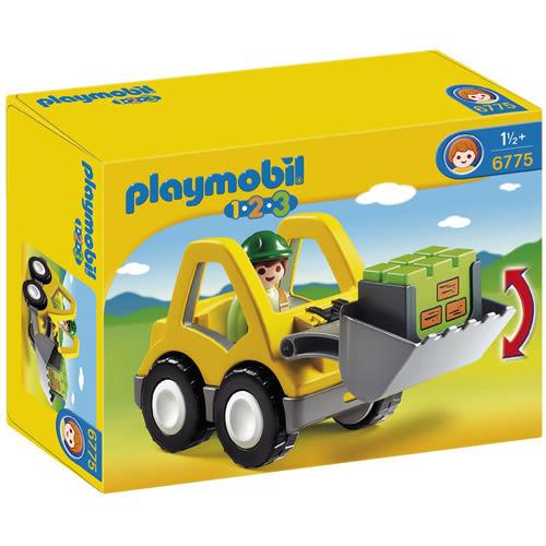 playmobil 123series 小堆土機_ PM06775