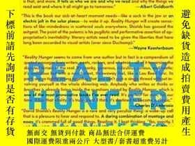 二手書博民逛書店Reality罕見HungerY362136 David Shields Knopf, 2010 ISBN:9