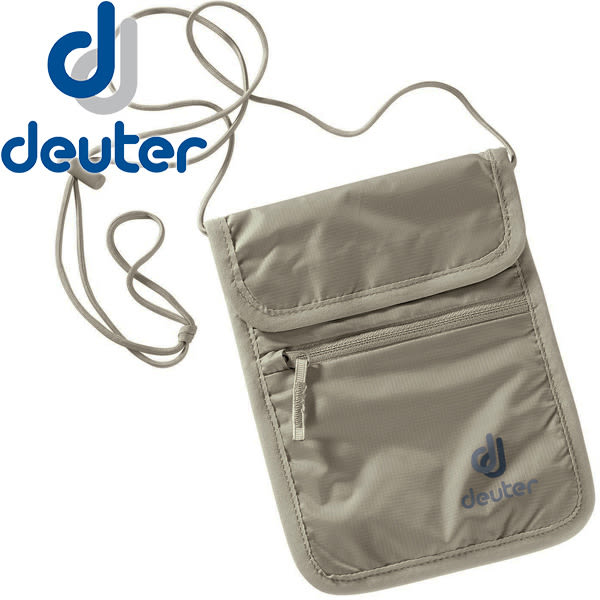 Deuter 3942116-卡其 Security Walle 隱藏式錢包