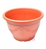**好幫手生活雜鋪**  歐式浮雕花盆 尺1 ------歐式浮雕花盆 花器 盆栽 居家 花藝 塑膠盆