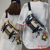 斜挎包男士背包腰包小挎包女夏季日系單肩包胸包男【西語99】