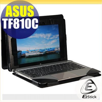 【EZstick】ASUS VivoTab TF810 TF810C 專用皮套 (可裝鍵盤款式)(加碼送平板機身背貼)
