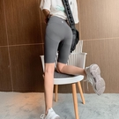 安全褲 瑜伽短褲打底褲女夏薄款外穿彈力安全褲液體芭比健身五分騎行褲-Ballet朵朵