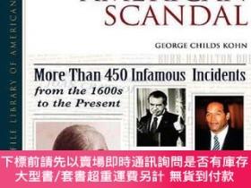 二手書博民逛書店The罕見New Encyclopedia of American Scandal (Facts on File