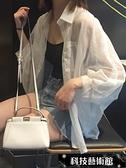 蕾絲雪紡夏季新款白色防曬衣百搭韓版雪紡襯衫薄款上衣寬鬆空調衫女潮