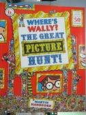 【書寶二手書T1/少年童書_QLI】Where's Wally?: The Great Picture Hunt_Martin Handford