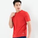 男款排汗T  CoolMax 吸濕快乾 機能涼感 舒適運動 紅色