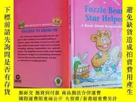 二手書博民逛書店Fozzi罕見bear,star helper【實物拍圖 自鑑】