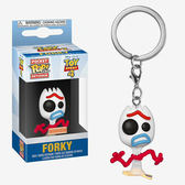 Funko POP! 鑰匙圈 迪士尼 玩具總動員4 難過 叉子 Forky 【鯊玩具Toy Shark】