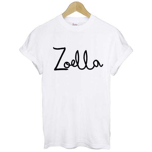 ZOELLA短袖T恤 2色 Zoe Sugg Aid 30搖滾音樂滑板街頭潮流band rock樂團t-shirt390