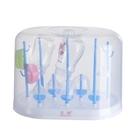 帶防塵蓋奶瓶瀝水架收納盒奶瓶干燥架