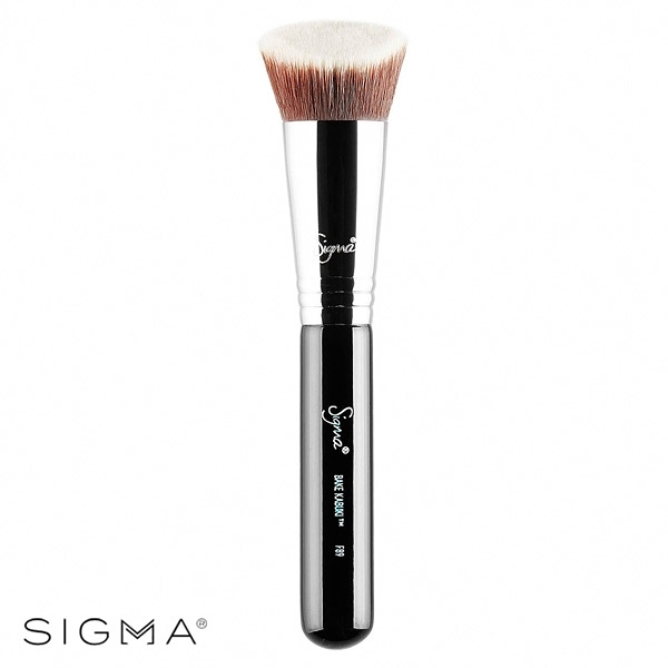 Sigma F89-斜角鬆粉刷 Bake Kabuki Brush - WBK SHOP