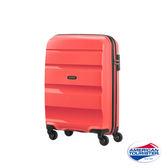 AT美國旅行者20吋 BON-AIR PP 材質 可擴充四輪登機箱(珊瑚紅)