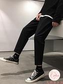 西褲男大碼九分褲百搭寬松直筒休閑褲男夏季【大碼百分百】