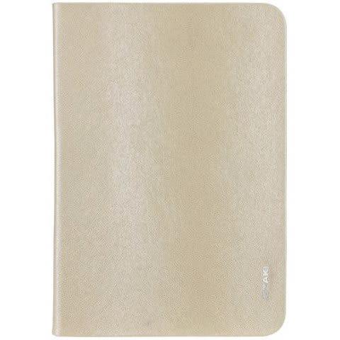 Ozaki iPad mini O!coat Slim 香檳金 折疊式 可立式 側翻保護套