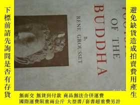 二手書博民逛書店in罕見the footsteps of the Buddha