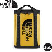 【The North Face EXPLORE FUSEBOX後背包26L《黃》】3KYF/雙肩背包/書包/防水背包/旅遊