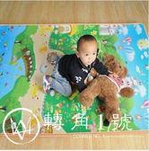 寶寶爬行墊嬰兒加厚爬爬墊環保雙面防潮墊泡沫地墊遊戲毯