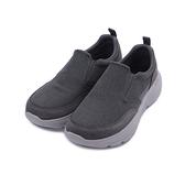 SKECHERS 健走系列 GO WALK DURO 套式運動鞋 黑 216008CHAR 男鞋