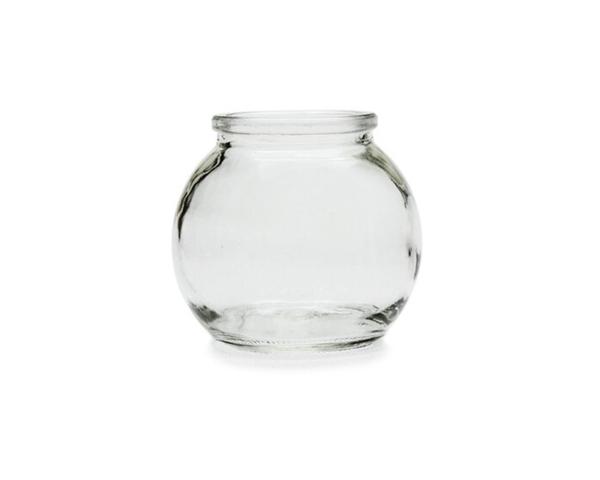 附蓋 100cc 玻璃小球瓶 奶酪布丁杯 果醬瓶 布蕾杯 婚禮小物 蜂蜜瓶 玻璃瓶 圓球瓶【T054】