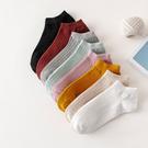 襪子-正韓糖果色系 馬卡龍色短襪 短襪隱形 素色短襪 船型短襪 淺口襪 隱形襪 船襪 【AN SHOP】