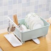 廚房碗柜塑料碗架大號帶蓋裝碗筷收納盒具置物架