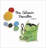 THE COLOUR MONSTER /英文繪本《中譯: 彩色怪獸》主題:顏色.情緒管理.想像