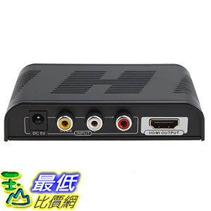 [美國直購] E-SDS High Definition 720P/1080P Mini AV Composite Video/Audio RCA CVBS to HDMI Converter 轉換盒