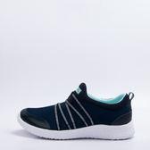 SNAIL  超輕量金蔥彈性鬆緊撞色套入式休閒健走鞋 S-4170105
