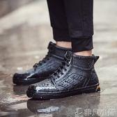 雨靴 雨鞋男低筒防滑水鞋輕便平底膠鞋雨靴鞋韓國夏季短筒成人釣魚鞋男 非凡小鋪