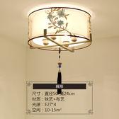 歐式美式客廳吊燈鐵藝術簡約大氣現代田園地中海臥室餐廳吸頂燈具xw