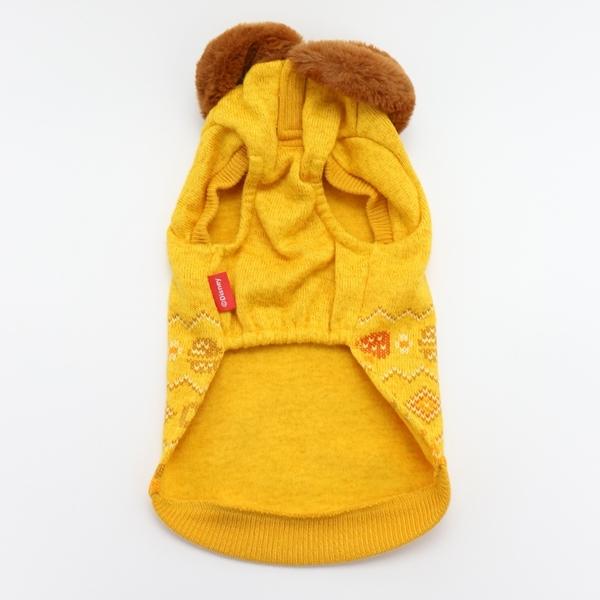 【PET PARADISE 寵物精品】DISNEY 奇奇蒂蒂毛領針織上衣 (3S/DSS/SS/DS) 寵物衣服