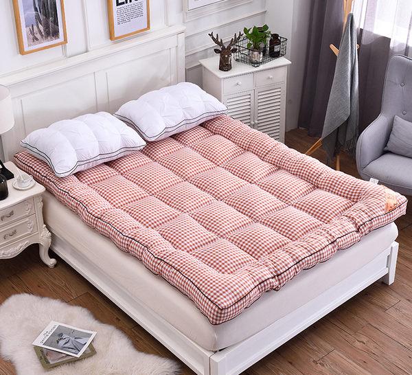 床墊加厚軟床墊1.5m1.8m可折疊榻榻米床褥子雙人單人學生宿舍保暖墊被