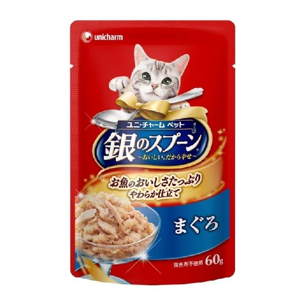 銀湯匙  貓餐包鮪魚 60g