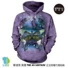 摩達客預購美國The Mountain蜻蜓捕夢 環保藝術長袖連帽T恤