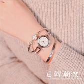 手錶 鏈條手表女中學生韓版簡約百搭潮流小清新網紅同款手鏈式