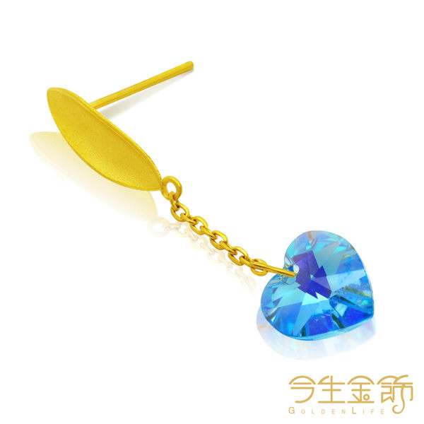 今生金飾   回夢耳環  時尚黃金耳環