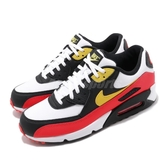 Nike 休閒鞋 Air Max 90 Essential 白 紅 男鞋 運動鞋 【PUMP306】 AJ1285-109