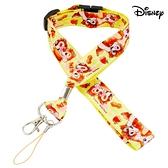 【SAS】日本限定 迪士尼 奇奇蒂蒂 可愛抱抱版 掛鉤 手機吊飾 掛繩頸帶 / 證件識別證掛繩