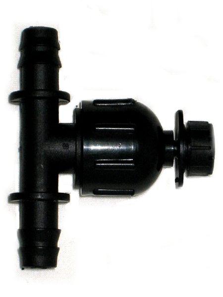 八孔可調滴頭16mm雙通接頭6個