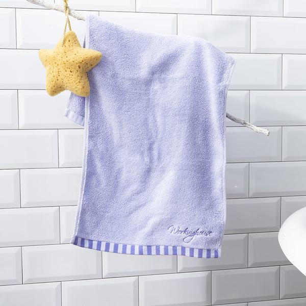 【店長超值推薦6折起】煦煦柔棉毛巾-紫-生活工場