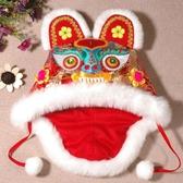 中國風傳統純手工嬰兒虎頭帽子兒童男周歲滿月寶寶抓周老虎帽秋冬 - 歐美韓