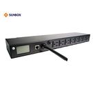 智慧型機架式排插 8埠 IP PDU(S...