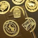 [拉拉百貨]簍空 創意書籤 書籤 簍空書籤 金屬書籤 英倫 貴氣 復古