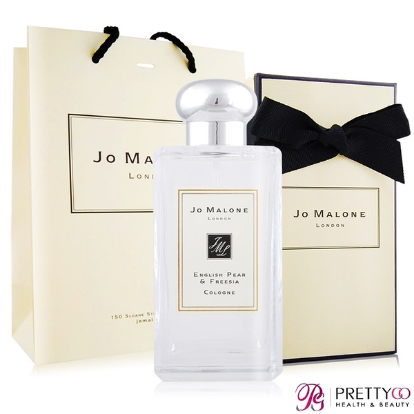 Jo Malone 英國梨與小蒼蘭香水(100ml)-附紙盒+提袋+緞帶-國際航空版【美麗購】