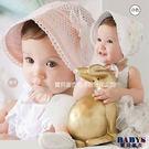 童帽 歐洲皇室貴族 小公主 女娃娃造型 兩色  寶貝童衣