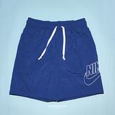 NIKE 運動褲 短褲 NSW短褲 尼龍材質 藍 AS M NSW SPE WVN SHORT ALUMNI 男 (布魯克林) DB3811-455