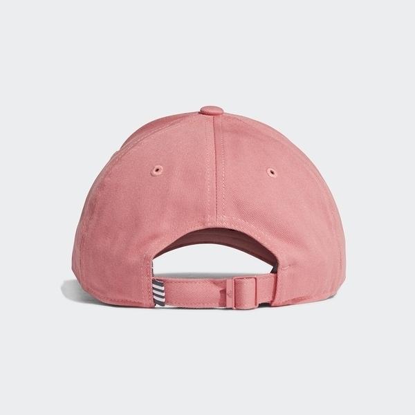 Adidas Bball Cap Cot [GM6272] 男女 老帽 鴨舌帽 棒球帽 六分割 經典 潮流 防曬 粉紅