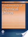 二手書博民逛書店 《Fundamentals of Electrical Drives》 R2Y ISBN:1842650831│Dubey