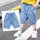 小童裝男童夏裝2020新款七分褲兒童夏款...